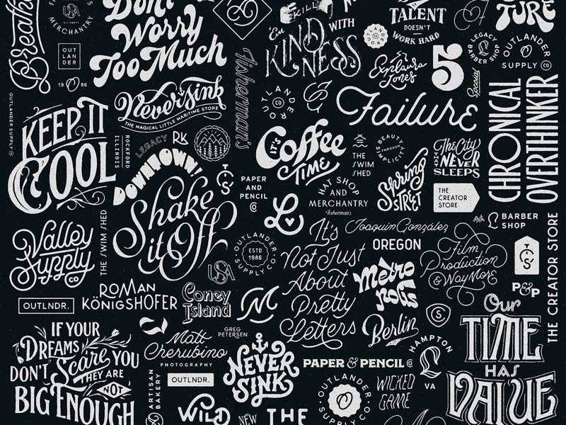 Collection identity branding logodesigns logodesign logo portfolio collection handlettering letters lettering type