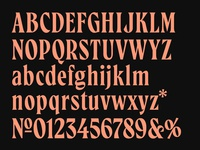 Typeface in progress