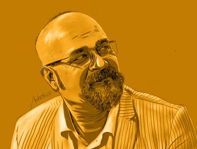digital portrait painting creative art degital painting illustraion brush vector graphic design design