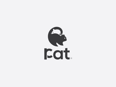 concept logo-rat-cat logocollection wordmark logos graphic design cat rat logotype logoinspiration logoidea logoconcept logodesign