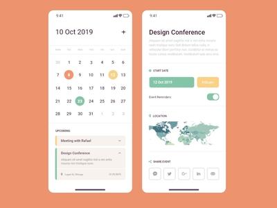 Calendar Application X