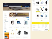 Electrro - Electronics Shop E-Commerce Landing Page