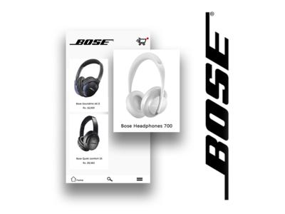 Bose shopping app
