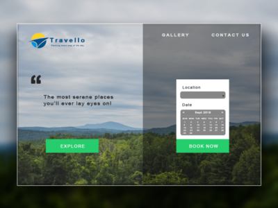 Travello - The Travel Planning Website