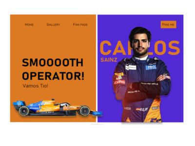 Carlos Sainz : Smoooth Operator!