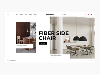 Oliver Veles Furniture Online Store store app store shop sell product cards product card motion homepage grid goods furniture fashion e-commerce desktop decoration clean catalog buy accessories