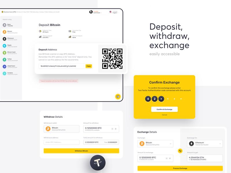 E-wallet Platform finance business styleguide design system sidebar navigation service dashboard data visualization sheet tables finances bitcoin crypto finance
