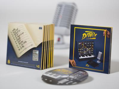 """""""Distanze"""" Cd Packaging photography music cd packaging cd cover papercraft paper art handmade"""