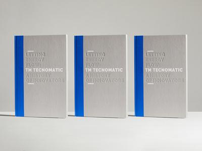 Tecnomatic monograph monograph book cover editorial design design brand identity brand branding
