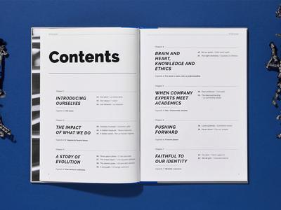 Company monograph typography index book editorial design editorial design brand branding