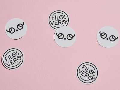 Filo.Vero Logo fashion brand label clothing brand kids brand identity logo brand branding typography design