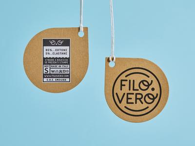 Filo.Vero Labels fashion brand clothing kids brand identity branding typography design brand logo label label design labeldesign