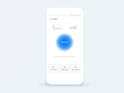 Cleaner Lite cache cleaner ui app andriod