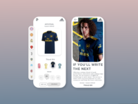Adidas Soccer - Order Page