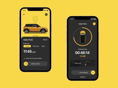 Parking app_shot modern animation mobile app uxdesign uidesign parking app parking adobe illustrator adobe photoshop adobexd illustration flat icon web branding app ux ui minimal design