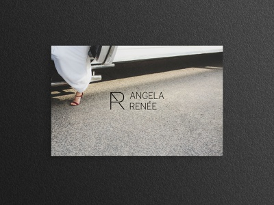 Visual identity & collateral for Angela Renée Photography photographer chicago design studio brand identity logo branding