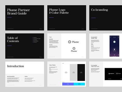 Plume Partner Brand Guide partners communication branding guidelines