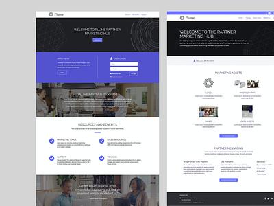 Plume Partner Marketing Hub website partners communication marketing