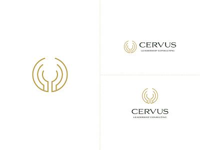 Cervus Logo & Visual Identity brand identity graphicdesign logo visual identity branding consulting leadership