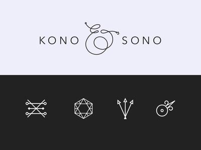 Kono & Sono Visual Identity