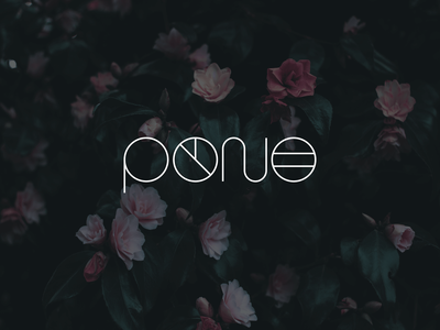 Early Logo Concept for Pono floral hawaii chicago live pono design studio branding and identity brand identity logo create positivity branding