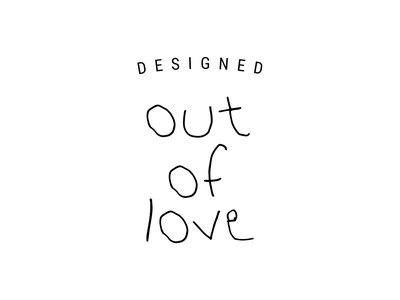 Designed Out Of Love Initiative you are loved kids deserve to stay kids support survivors support awareness child sexual abuse prevention pin wheel sticker lapel pin children kids helping kids giving back non-profit create positivity brand identity logo branding hand drawn