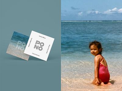 Pono Design Studio Business Cards hawaii branding and identity brand identity graphicdesign branding stories live pono create positivity design studio biz cards business cards