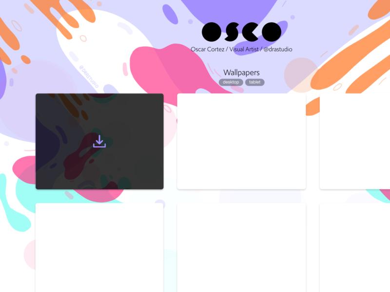 Wallpaper Site procreate illustration web