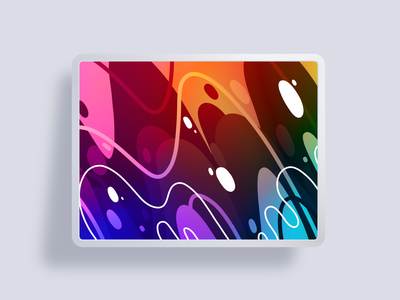 Swiftly Wallpaper ipad pro vector adobe fresco wallpaper