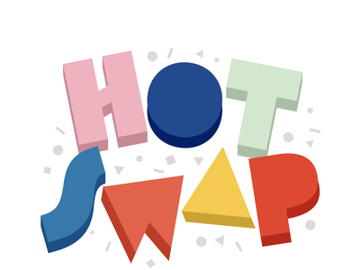 Hot Swap the Game game logo vector
