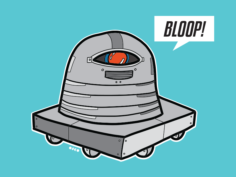 00001 Bloop robot vector