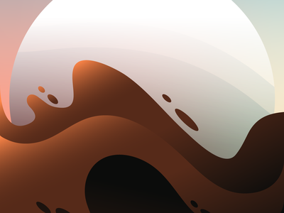 Coffee Sunrise wallpaper vector