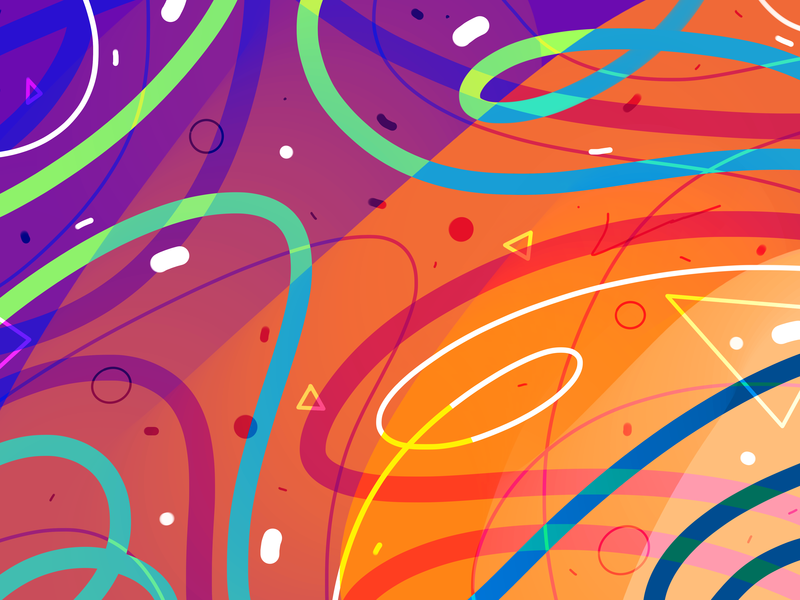 Behance Banner pattern a day art pattern vector
