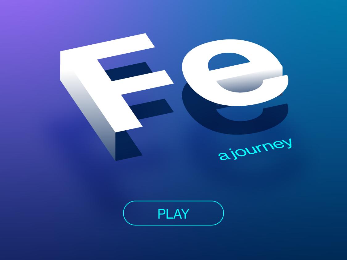 Fe - iOS launch screen ios logo type vector
