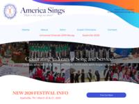 Web Layout - America Sings