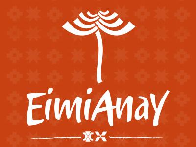 Logo Eimianay logo isotype logotype ethnic mapuche accessories craft