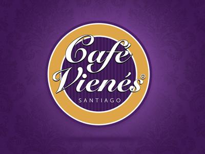 Cafe Vienés Logo café coffee restaurant logotype logo café vienés cafetería design corporative design logotipo diseño corporativo