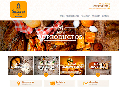 Web Design Bakery food bread responsivedesign responsive webdesign web