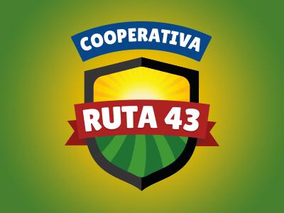 Logotype Ruta 43
