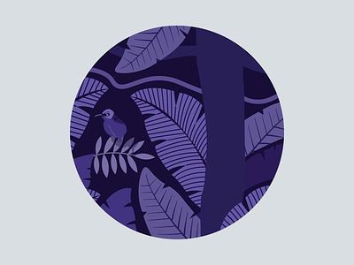 Wings of the World: Bird Zoom content creation content design print design monochrome design branding agency branding design branding art branding jungle design jungle leaves vector illustration illustrator bird illustration