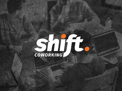 Branding: Shift Coworking brand identity design creative agency branding modern logo logo designer logo design technology logo logotype orange logo branding agency logo coworking logo shift logo