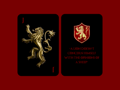 The Ultimate Game game of thrones playing card cards branding warmup typography drawing weekly challenge illustration dribbble challenge weekly dribbbleweeklywarmup design