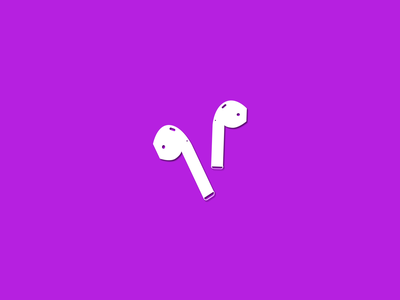 AirPods or Bust thankful apple airpods drawing warmup branding weekly challenge illustration dribbble challenge weekly dribbbleweeklywarmup design