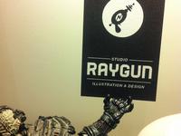 Raygun Business Card print