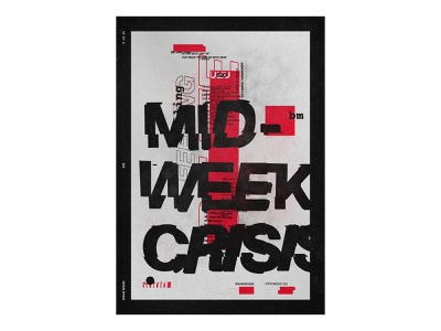20 raw collage cut format large editorial composition gritty texture crisis mid week 20 printed print theposterproject