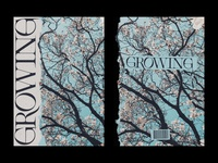 138 print poster growing grow layout editorial