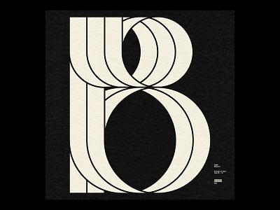 36 Days ― B type minimal typography 36daysoftype07 36daysoftype08 36dayoftype 36daysoftype 36days b