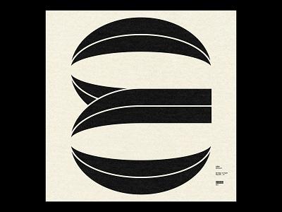36 Days ― E type simple minimal typography 36daysoftype08 36daysoftype 36days