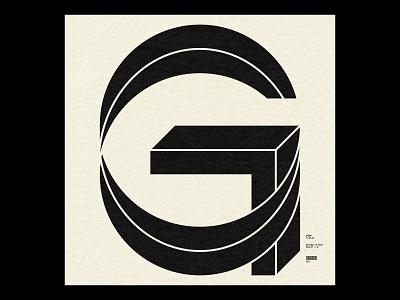 36 Days ― G grid swiss simple minimal typographic typography type 36daysoftype08 36daysoftype 36days