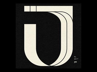 36 Days ― J shapes swiss minimal typography type j 36daysoftype08 36daysoftype 36days
